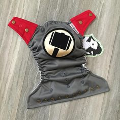 Thor's Hammer Cloth Diaper Cover or Pocket Diaper One