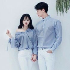 Shared by Find images and videos about fashion, couple and ulzzang on We Heart It - the app to get lost in what you love. Korean Couple Fashion, Asian Fashion, New Fashion, Fashion Outfits, Korean Couple Photoshoot, Trendy Fashion, Fashion Tips, Matching Couple Outfits, Matching Couples