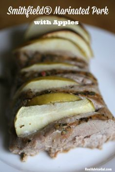 #SmithfieldPork with Apples Recipe, so delicious and took only few minutes to prepare #sponsored