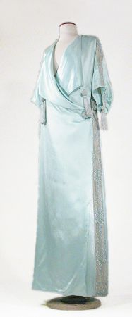 Silk Charmeuse Peignoir, circa 1907