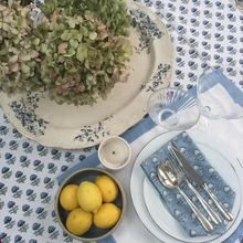 Cotton Napkins, Place Mats, Hand Spinning, Table Linens, Jaipur, Cloths, London, Printed, Flowers