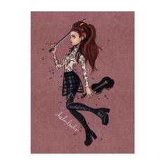 Publicité pour le lancement de #braveenough Lindsey Stirling en France , avec de la musique de #thearena .
