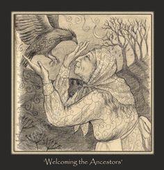 Welcoming the Ancestors - Painting Dreams