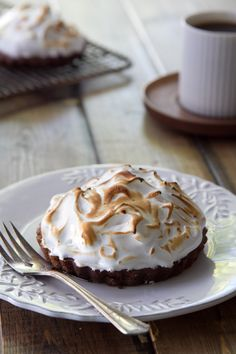 whiskey, chocolate, meringue pie from @Nancy Buchanan at @Nancy Buchanan - happy st p's day
