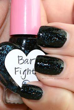 The Hungry Asian Bar Fight #beauty #manicure #nailpolish