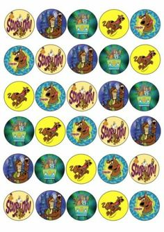1000 images about scooby doo birthday on pinterest for Scooby doo cake template