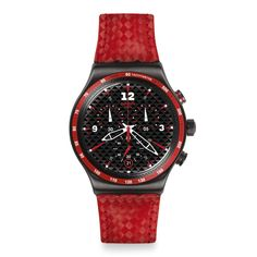 Swatch Rosso Fuoco watch Love #Swatch