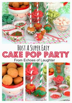 Echoes of Laughter: How To Host A Super Easy Cake Pop Party!