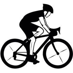 lady cycling drawing google search sport stencil pinterest rh pinterest com cycling clip art free cyclist logos clipart