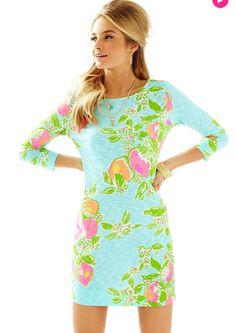 Lilly Pulitzer Pink Lemonade Marlowe Dress
