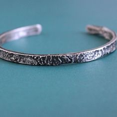 Sterling Silver Cuff, Silver Bracelets, Bracelets For Men, Thing 1, Silver Man, Leather Jewelry, Jewelry Making, Slim, Unique