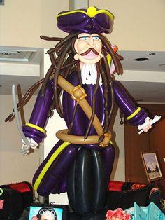 Pirate Balloon Art