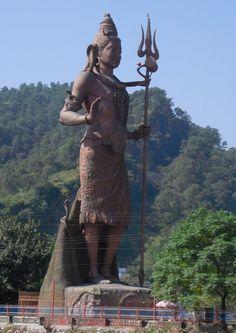 Shiva Statue Near Har ki pori, Haridwar, Uttarakhand, India