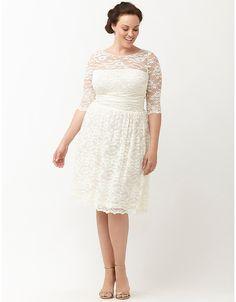 Plus size designer formal dress