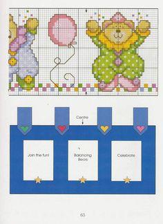 Gallery.ru / Фото #59 - Cross Stitch Teddies - KIM-2