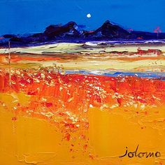 Autumn Evening, Isle of Colonsay by John Lowrie Morrison - art print from King & McGaw Framing Canvas Art, Teaching Art, Landscape Paintings, Landscapes, Painting Inspiration, Framed Art Prints, Autumn, Artwork, Art Styles
