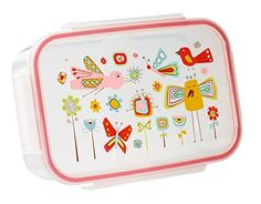 Sugarbooger Good Lunch Three compartments keeps food separated and fresh Airtight construction Microwaveable and freezer safe Kid-friendly easy-open lid Lead-free, BPA-free, phthalate-free, PVC-free