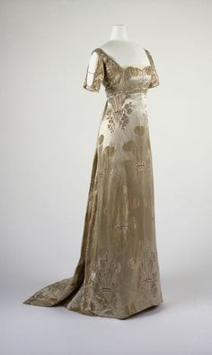 Dress, Gustave Beer | 1911 / 1911 evening dress French / 1912-13 French