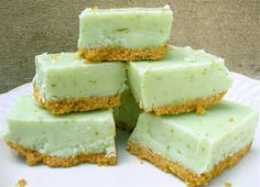 Key Lime Pie Fudge on SixSistersStuff.com- the perfect summer dessert!