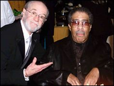 Richard Pryor and George Carlin - two comic legends who not only thought outside the box. They were both funny in their own way. And they didn't pull any punches or make no apologies for it. May they both forever rest in peace.