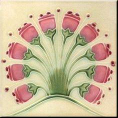 Ceramic Trivet 6 inch square Vintage Art Nouveau by sublimeimages… – Hidradenitis Suppurativa Treatment Antique Tiles, Vintage Tile, Antique Art, Vintage Art, Motifs Art Nouveau, Azulejos Art Nouveau, Art Nouveau Tiles, Art Nouveau Design, Artistic Tile
