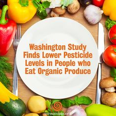 While health-conscious individuals understand the benefits of eating fresh fruits and veggies, they may not be aware of the volume of pesticides they could be ingesting with their vitamin C and fiber. A study from the University of Washington School of Public Health is among the first to predict a person's pesticide exposure based on information about their usual diet: http://www.cornucopia.org/2015/02/washington-study-finds-lower-pesticide-levels-people-eat-organic-produce/ #pesticides