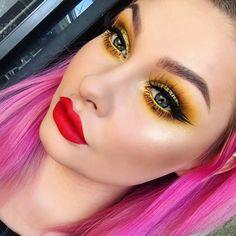 How much do you love makeup ?  #makeup #likeforlike #makeupgeek #glam #facebeat #kyliecosmetics #nyxcosmetics #anastasiabeverlyhills #morphebrushes #kyliejenner #makeupshayla #faceglam #followtrain #health #girlsecrets #highlight #glow #highlight #fashion #follow4follow #brow #collaboration #followforfollow