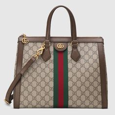 67d7e9bf8d0d Ophidia GG medium top handle bag #bag Women's Handbags, Chanel Handbags,  Ladies Handbags