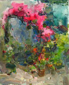 Vitaly Makarov --Presque abstraite, mais tout est là ..De toute beauté!