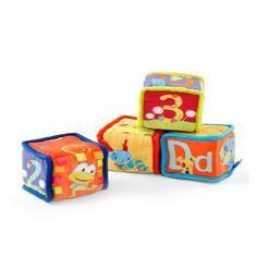Grab & Stack Blocks « Baby City Activity Toys, Activities, Baby Blocks, Toy Chest, Storage Chest, City, Home Decor, Decoration Home, Room Decor