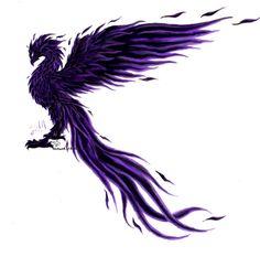phoenix bird | Black PhoenixMake Black