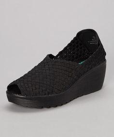 Look at this #zulilyfind! Black Saison Slip-On Shoe #zulilyfinds
