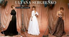 Ulyana Sergeenko-gorgeous and talented designer whose clothes I'd wear daily
