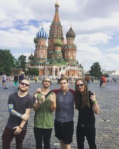 #Repost #Shinedown: Beautiful Day Off in Moscow ....   via Instagram http://ift.tt/28Psxpm  Shinedown Zach Myers