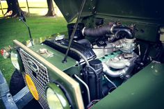 1969 Land Rover Series IIA Air-Portable engine