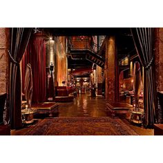 The Edison bar downtown Los Angeles.... TOO beautiful. They have burlesque shows, old movies projected and a fairy with an absinthe cart, truly magical.