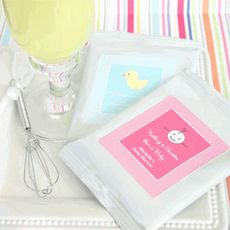 Personalized Lemonade with Optional Heart Whisk my baby shower favors.com