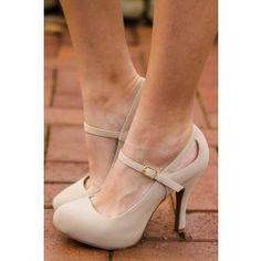 Working Up The Courage Heels-Nude Like and Repin. Noelito Flow instagram http://www.instagram.com/noelitoflow