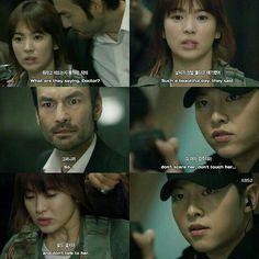 Descendants of the Sun❤ All Korean Drama, Korean Dramas, Kdrama, Decendants Of The Sun, Kim Book, Tv Show Couples, Songsong Couple, Song Joon Ki, Drama Funny