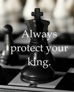 Good piece of advice for playing chess! Note to self: REMEMBER THIS!