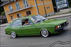 Green VW Passat LS | Flickr - Photo Sharing!