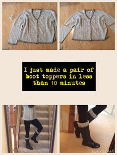 Boot toppers Boot Toppers, Pairs, Sewing, Boots, How To Make, Style, Crotch Boots, Couture, Stylus