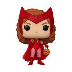 Scarlet Witch Halloween, Scarlet Witch Costume, Funko Pop Marvel, Wanda Marvel, Funko Pop Dolls, Marvel Comics Superheroes, The Avengers, Wanda And Vision, Pop Vinyl Figures
