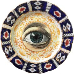 Lover's eye Oculus - Queens China  G. W. & Sons - More than 100 Years Antique #0587 Limited Edition by ArtefactoStore on Etsy