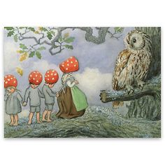Elsa Beskow illustration