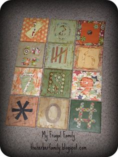 My Frugal Family: Craft Hacking Grandin Road