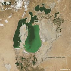 The Aral Sea is mostly gone, the driest it has been in perhaps 600 years.