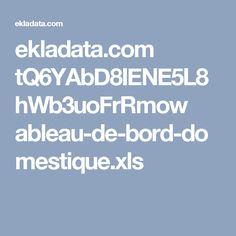 ekladata.com tQ6YAbD8IENE5L8hWb3uoFrRmow ableau-de-bord-domestique.xls