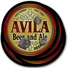 Avila Beer & Ale - 4 pack Drink Coasters ZuWEE https://www.amazon.com/dp/B003QTCH0I/ref=cm_sw_r_pi_dp_x_d9h4zbJH5P276