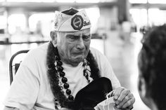Pearl Harbor survivor, Larry Perry reduced to tears 70 yrs. later.